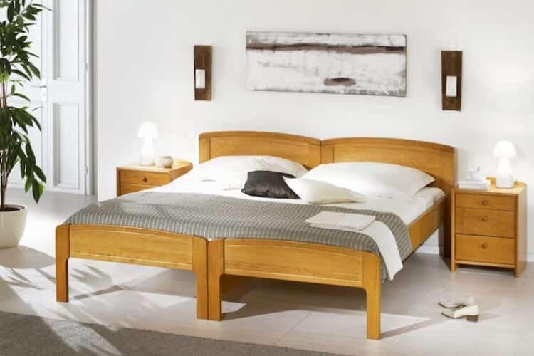 Das Bild zeigt das Modell Amberggross aus dem Sortiment von Bischoff Betten