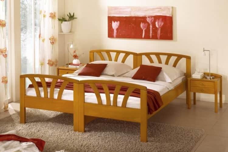 Das Bild zeigt das Modell Passaugross aus dem Sortiment von Bischoff Betten