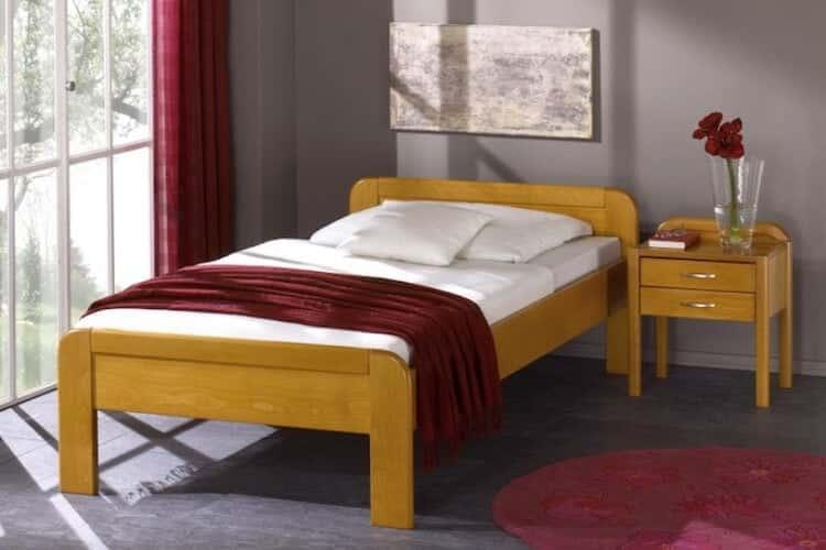 Das Bild zeigt das Modell Koelngross aus dem Sortiment von Bischoff Betten