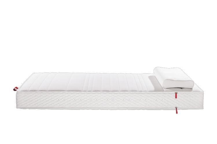 Das Bild zeigt eine Matratze der Marke Sensoflex