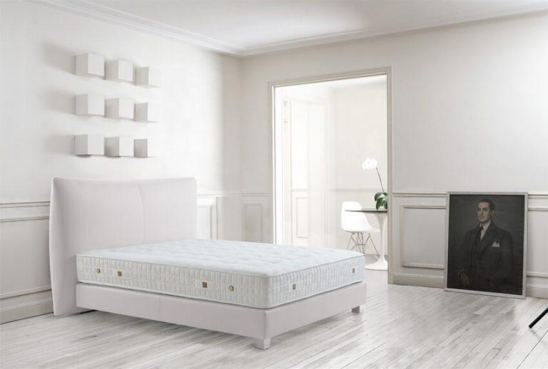 Das Bild zeigt ein Boxspring Bett